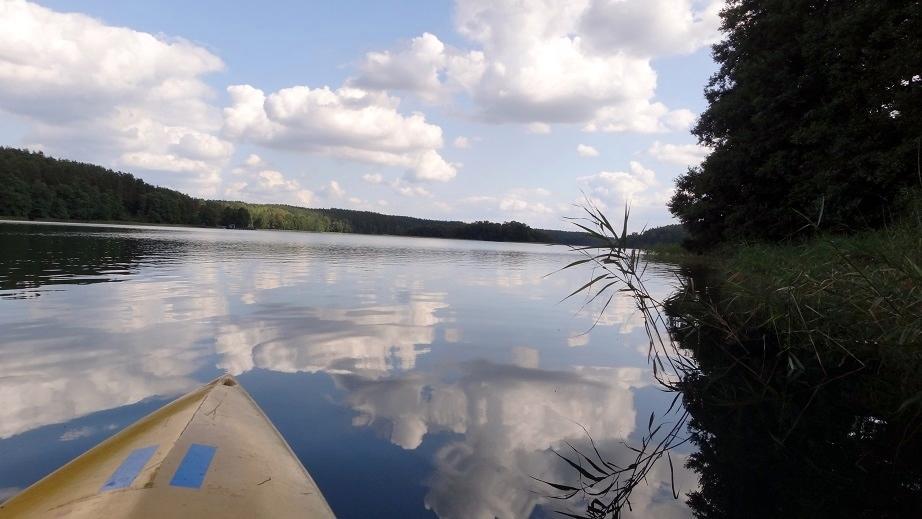Mazurskie jezioro Piłakno – Maradki i okolice