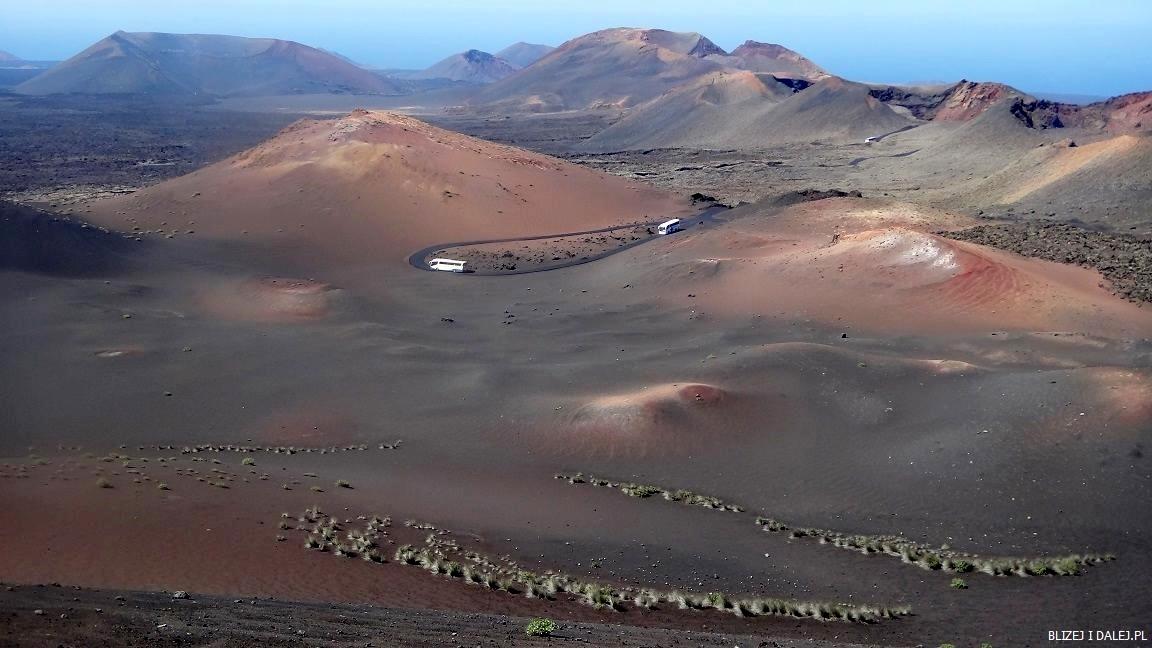 Timanfaya, Lanzarote – księżycowy krajobraz Gór Ognia
