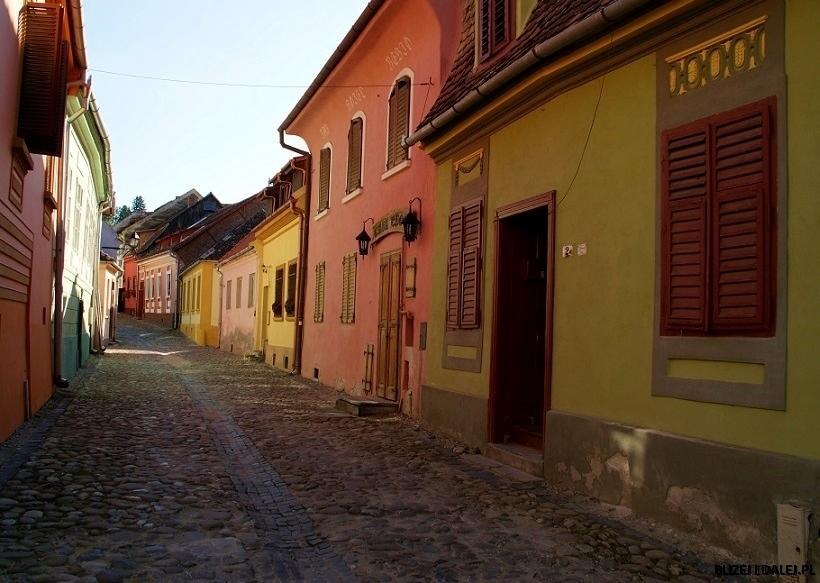 Sighisoara – zabytkowe, średniowieczne miasto Transylwanii, Rumunia
