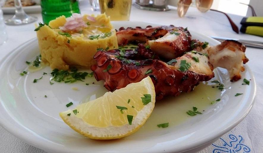 Akrogiali Taverna – restauracja w Chani
