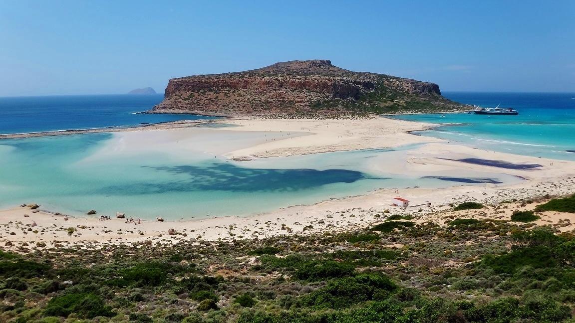 Rajska laguna Balos – Kreta