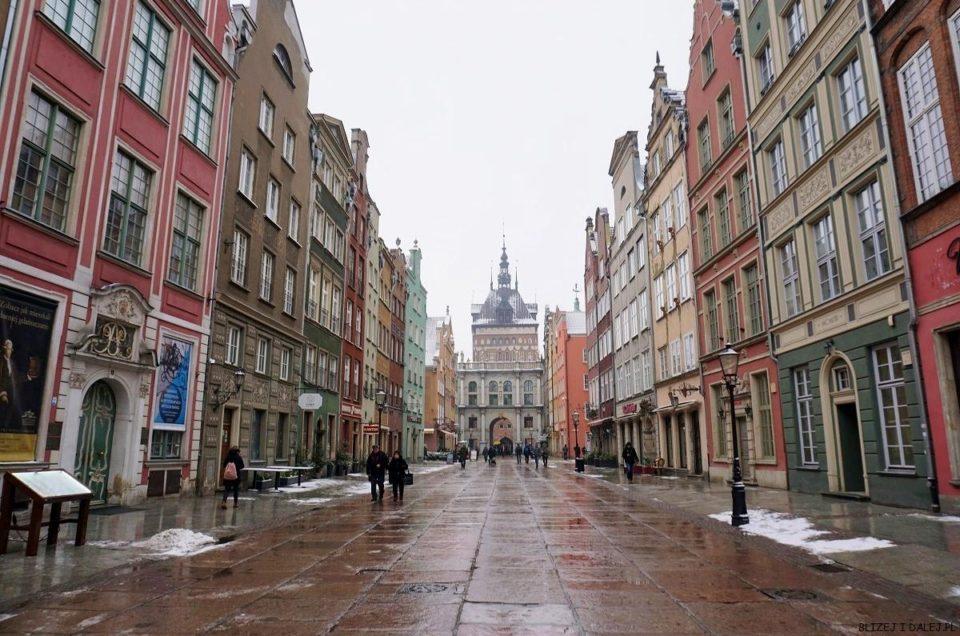 Gdańsk w zimowej odsłonie – Polska