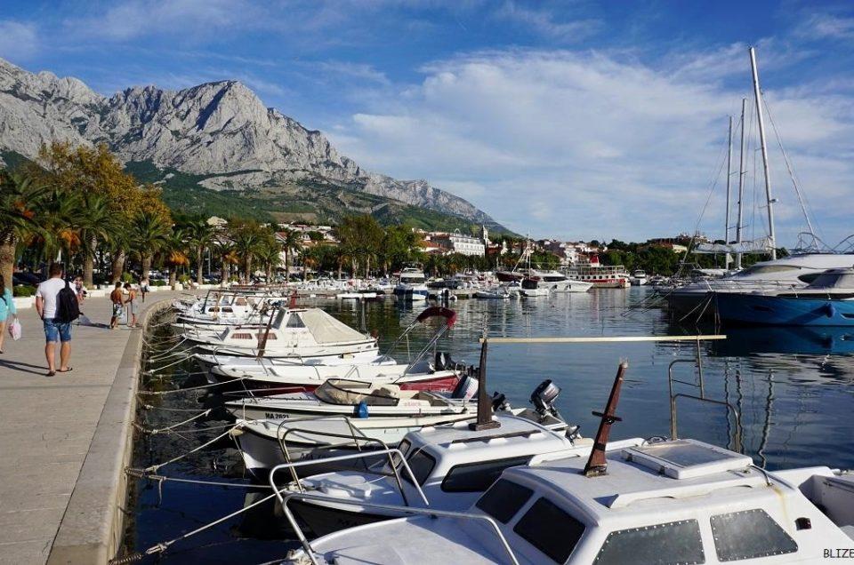Nadmorskie miasteczko – Baśka Voda, Chorwacja