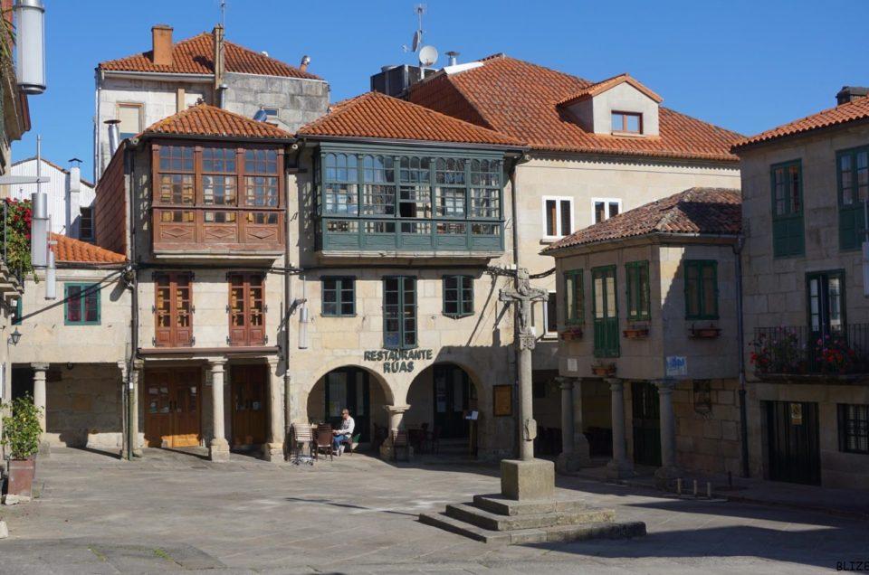 Galicyjskie miasto Pontevedra, Hiszpania