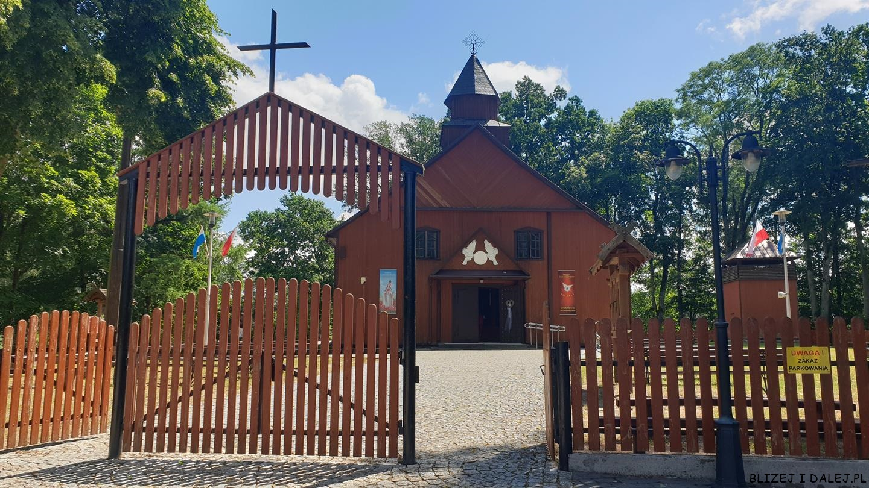 Augustów; jezioro Studzieniczne; sanktuarium Studzienice