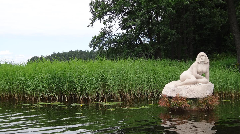Augustów; Goła Zośka; jezioro Rospuda