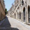 Miasto Rodos na wyspie Rodos, Grecja