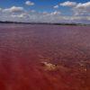 Różowe jezioro Torrevieja na Costa Blanca